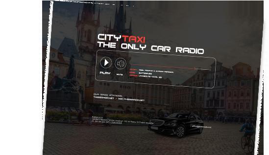 Rádio City TAXI Praha